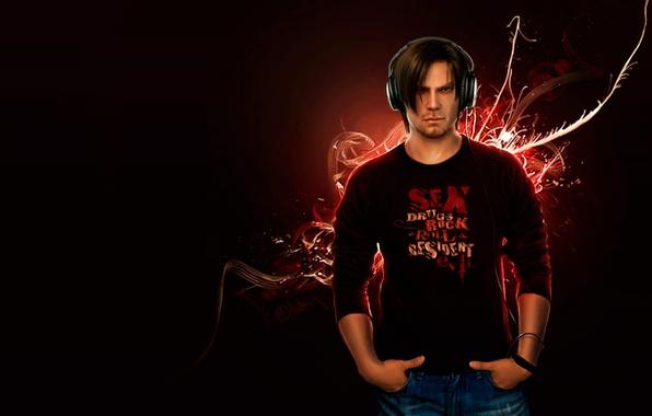 Picture Music, Music, Resident evil, Resident Evil, Biohazard, Leon Scott Kennedy, Leon Scott Kennedy, Biohazard