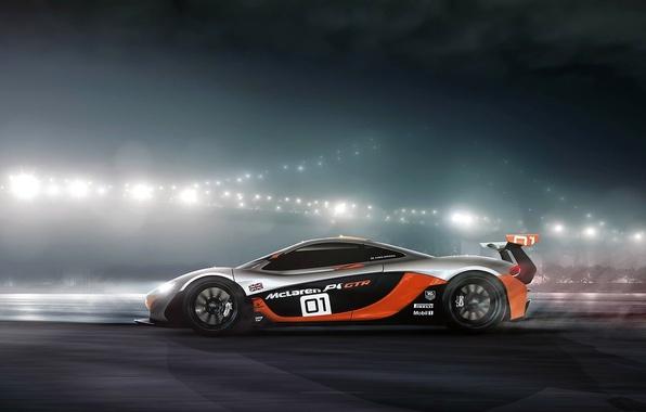 Picture McLaren, GTR, profile, Ranier Peredo