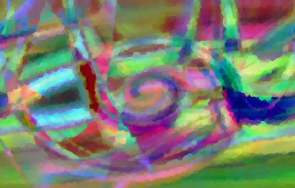 Picture line, pattern, color, spot