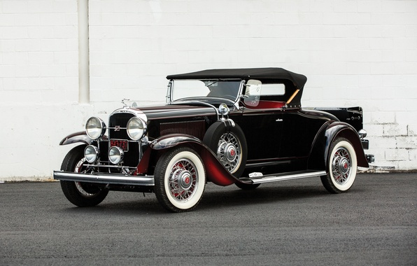 Picture Roadster, Roadster, 1931, Buick, Buick, Series 90