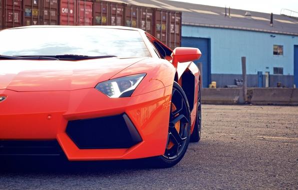 Picture cars, auto, cars walls, orange, supercars, Wallpaper HD, race car, lamborghini lp700-4 aventador, Lamborghini aventador, …