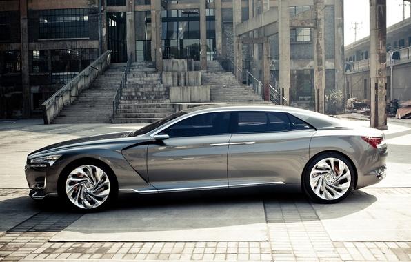 Picture the concept, Citroen, super, DS9, Metropolis
