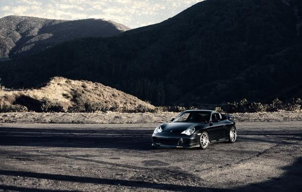 Picture mountains, nature, sports car, Porsche, Carrera, Porsche Carrera 911 4s