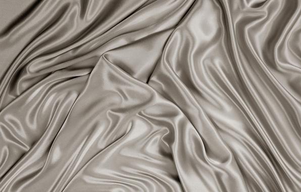 Picture grey, texture, silk, fabric, silk, satin