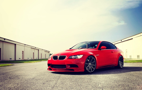 Picture BMW, coupe, E92, Tuning, Vossen