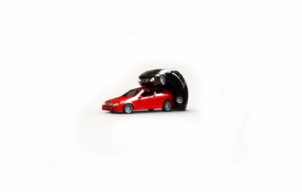Picture auto, white background, how to make machine