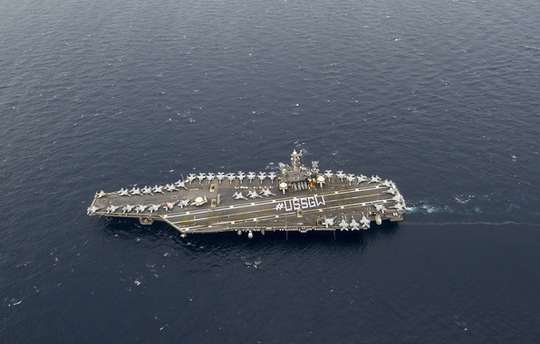 Picture USS George Washington, aircraft carrier, CVN 73