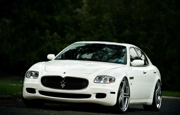 Picture Maserati, Quattroporte, The front