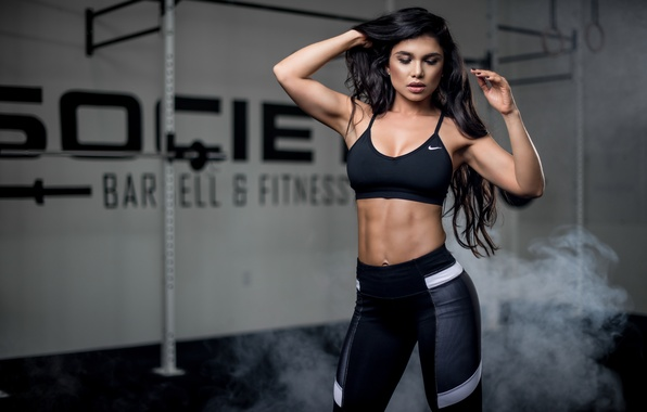 Picture girl, face, style, hair, figure, sports, fitness, Luz