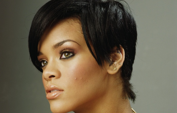 Picture haircut, singer, Rihanna, celebrity, Rihanna