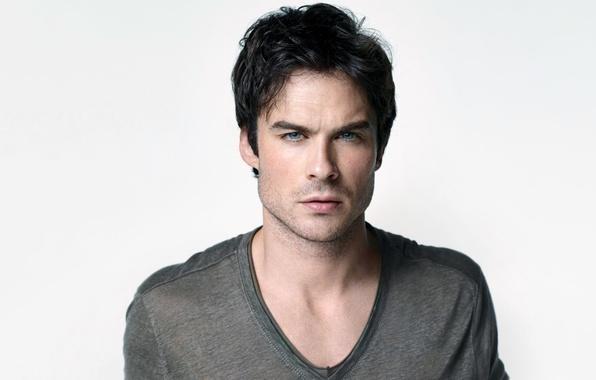 Picture background, actor, male, the series, The Vampire Diaries, The vampire diaries, Ian Somerhalder, brunette, Ian …