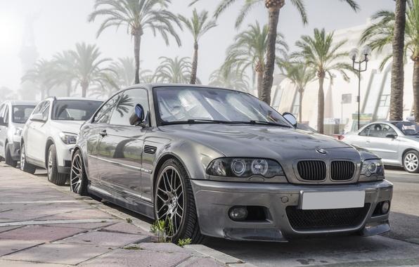 Picture BMW, BMW, grey, grey, E46