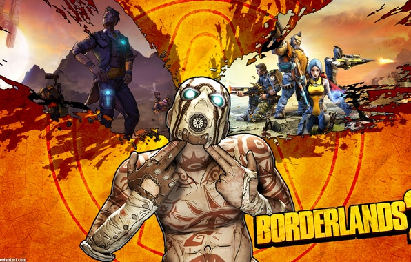 Picture shot, gesture, hyperion, the psycho, borderlands 2