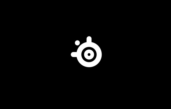 Picture Background, Logo, Logo, Minimalism, SteelSeries, Gaming Gear, Pro Gaming