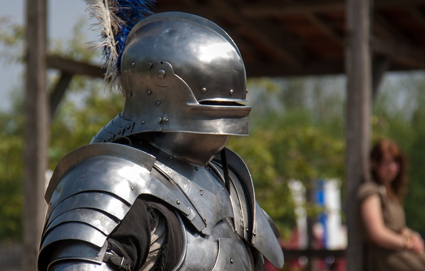 Picture metal, armor, warrior, helmet, knight