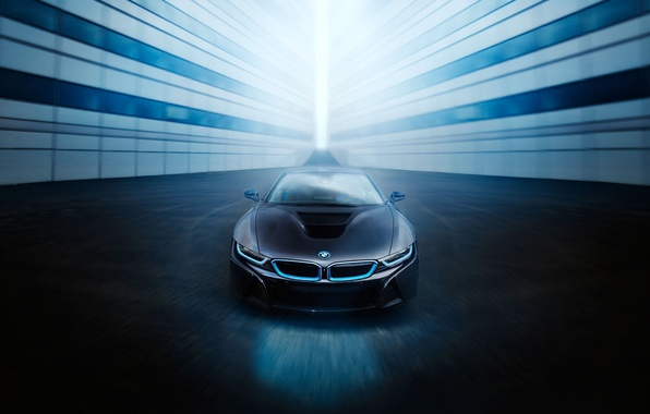 Picture BMW, Car, Blue, Front, Black, Sport, View, Ligth
