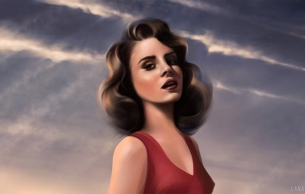 Picture figure, singer, Lana Del Rey, Lana Del Rey