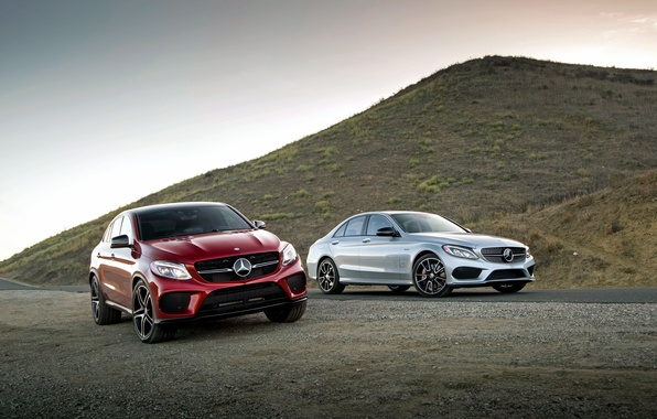 Picture Mercedes-Benz, Mercedes, AMG, AMG, C-Class, W205, C292, GLE-Class