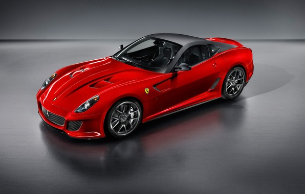 Picture red, Ferrari, sports car, 599 GTO