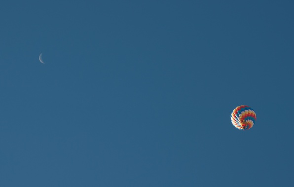 Picture the sky, balloon, sport