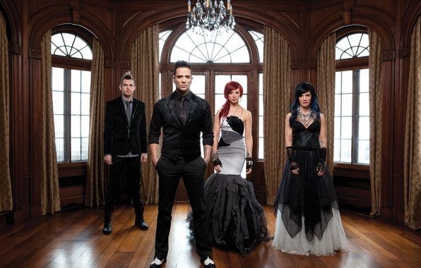 Picture Rock, Skillet, Christian Rock, John Cooper, Seth Morrison, Jen Ledger, Korey Cooper