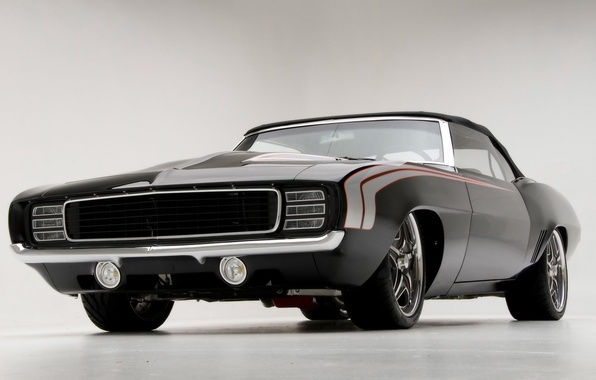 Picture 1969, camaro, chevrolet, convertible, muscle