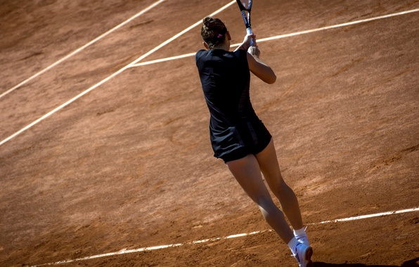 Picture girl, sport, tennis