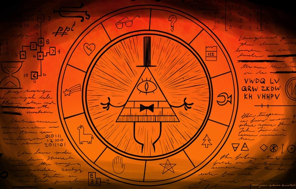 Picture Gravity Falls, Bill Cipher, Gravity Falls, Bill Cipher, Remember! Reality is an illusion, the universe …
