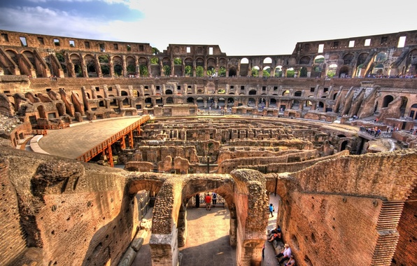 Picture Rome, Italy, Colosseum