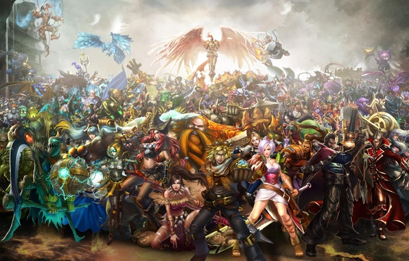 Picture League of legends, characters, Campeon