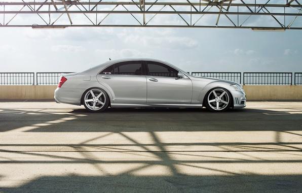 Picture profile, mercedes, Mercedes, metallic, vossen, s-class, s550