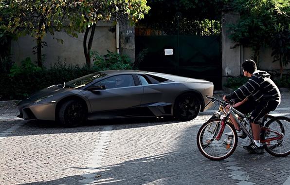 Picture bike, Lamborghini, Reventon