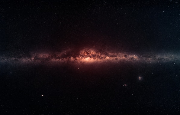 Picture space, stars, galaxy, space, The Milky Way, stars, 1920x1080, galaxy, milky way