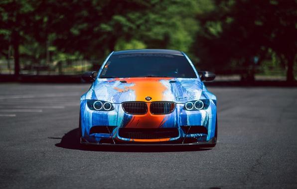 Picture car, BMW, E92