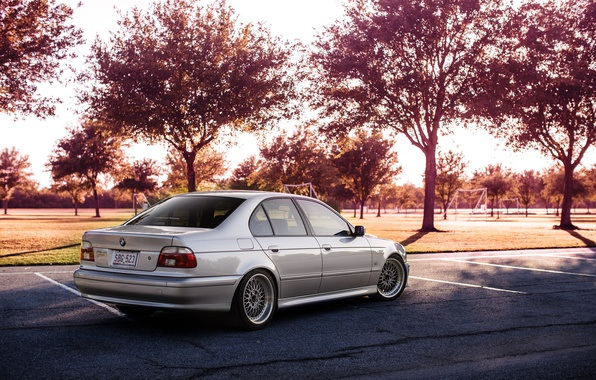 Picture BMW, BMW, bbs, E39, 5 series