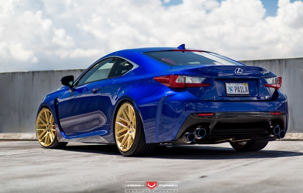 Picture machine, auto, Lexus, wheels, drives, auto, Forged, 2015, Vossen Wheels, VPS-308