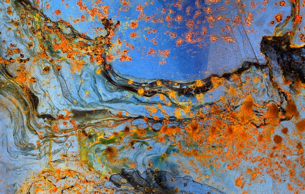 Picture surface, metal, texture, rust, spot