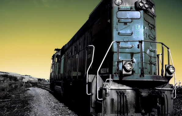 Picture treatment, Locomotive