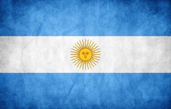 Picture color, the sun, flag, Argentina, flag, argentina