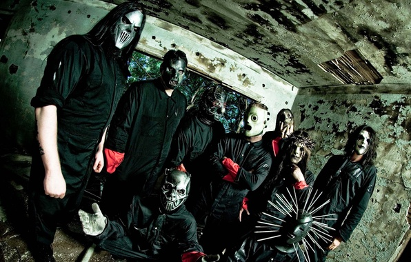 Picture group, Metal, Rock, Slipknot, musicians, Nu metal, Alternative metal