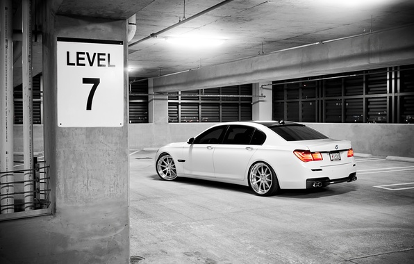 Picture auto, photo, Wallpaper, bmw, cars, City, Parking, white, cars, auto, stop, the view from the …