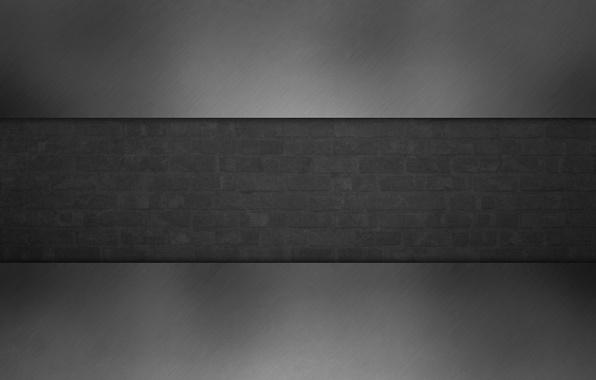 Picture strip, the dark background, grey, wall, brick, texture