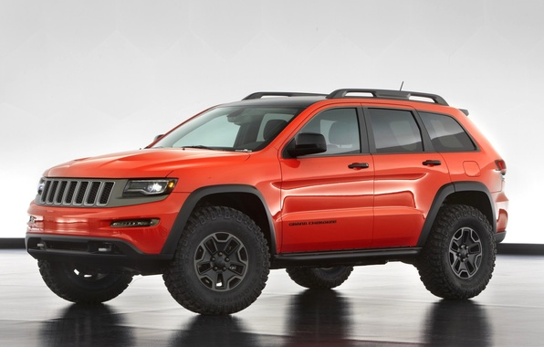 Picture auto, Concept, SUV, the concept, Jeep, Grand Cherokee, Trailhawk II