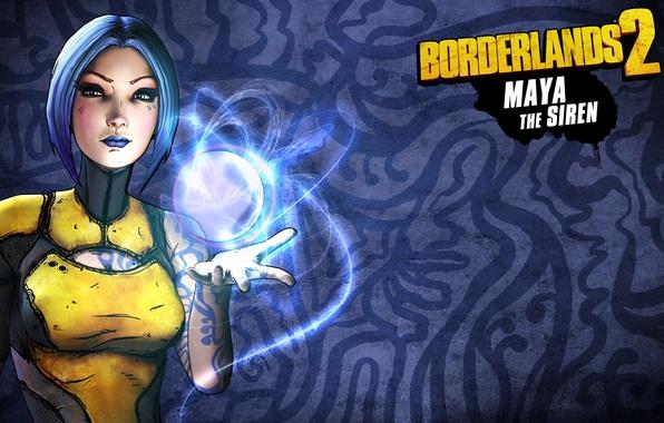 Picture Maya, RPG, 2K Games, Borderlands 2, Siren, Gearbox Software, Unreal Engine 3, FPS