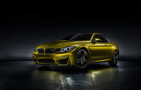 Picture Concept, BMW, BMW, Coupe, Golden