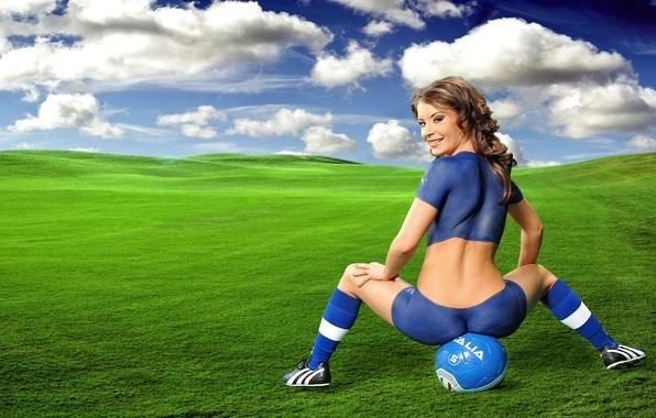 Picture women, ass, girls, football