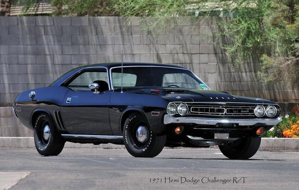 Picture 1971, Dodge, Challenger, Hemi, R/T