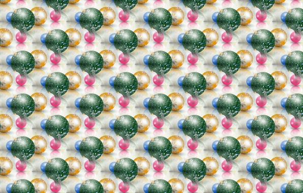 Picture balls, background, holiday, texture, New year, Christmas balls