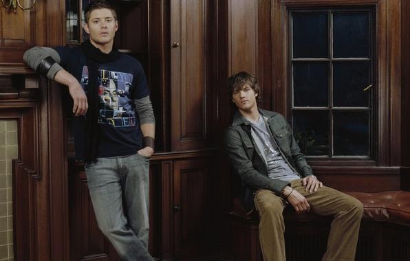 Picture Supernatural, Jensen Ackles, Supernatural, Dean Winchester, Jared Padalecki, Sam Winchester, Jensen Ackles, Over The Padalecki …