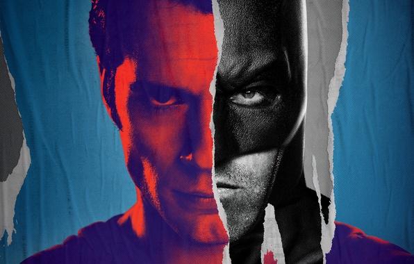 Picture look, costume, Batman, Superman, bristles, poster, Batman, Ben Affleck, Superman, DC Comics, Henry Cavill, Henry …